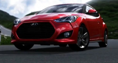Hyundai Veloster Turbo features in Forza Motorsport 4, the Xbox game | CarTrade.com