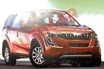 Mahindra XUV 500 facelift leaked on web | CarTrade.com
