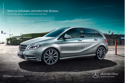 Mercedes Benz Indias ambitious sports tourer the B-Class for less than Rs.25 lakhs. | CarTrade.com