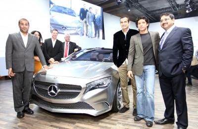 Auto Expo 2012 promotes Mercedes-Benz