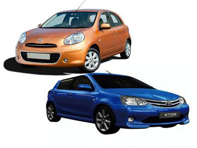 Toyota Etios Liva takes on Nissan Micra | CarTrade.com