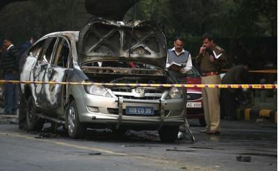 Israeli diplomat targeted at the recent car blast in New Delhi | CarTrade.com