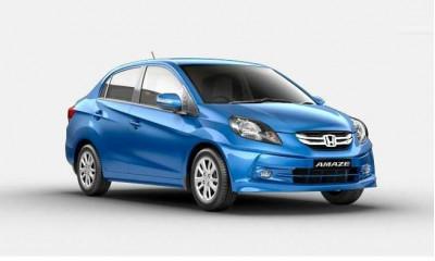 Honda Amaze tops company   s sales for February 2015 | CarTrade.com