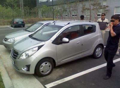General Motors New Beat (Spark?) Spied | CarTrade.com