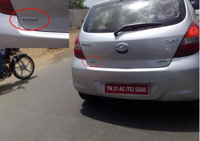 Hyundai i20 CRDi Diesel Spotted! | CarTrade.com