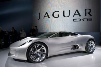 Jaguar cx 75 electric concept car model launched as publicscrutiny Image collections