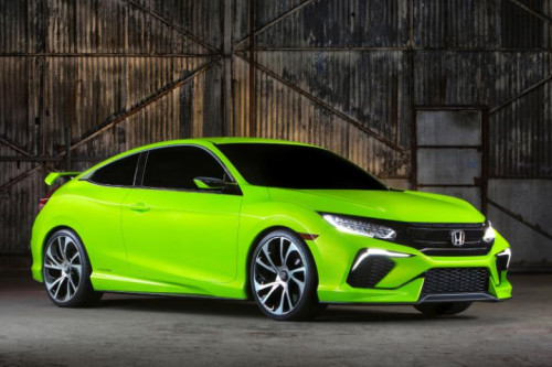 2016 Honda Civic Coupe will be the sportiest offering on the Civic Platform   CarTrade.com