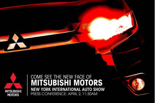 2016 Mitsubishi Outlander teased; debuts in New York   CarTrade.com