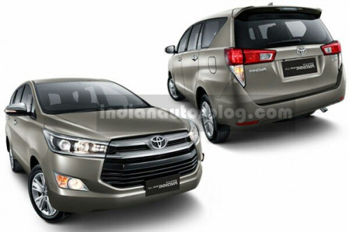 2016 Toyota Innova official images leaked | CarTrade.com