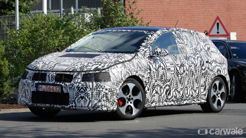 Next-generation Volkswagen Polo GTi spotted on test | CarTrade