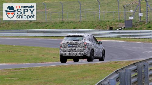 New generation BMW X5 spied on test