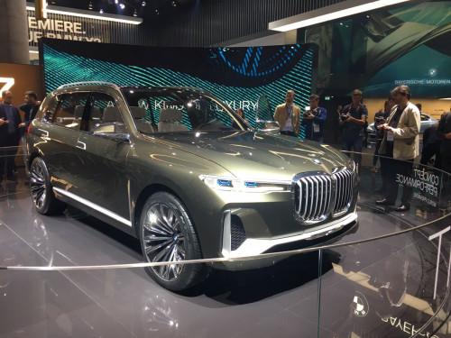 Frankfurt Auto Show 2017: BMW reveals the new X7 iPerformance Concept   CarTrade.com