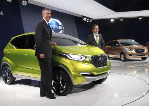 Datsun Redi-Go based hatchback launch in 2016   CarTrade.com