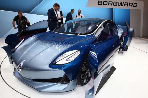Frankfurt Auto Show 2017: Borgward Isabella Concept showcased | CarTrade.com