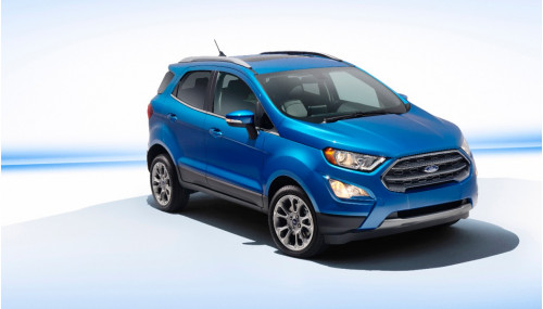 Facelifted Ford EcoSport
