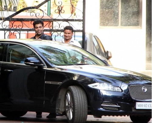Ae Dil Hai Mushkil Director Karan Johar owns a Jaguar XF Sedan