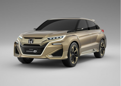 Shanghai Motor Show: Honda takes curtains off Concept D | CarTrade.com