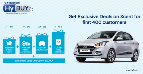Hyundai launches second edition of HyBUY program for Xcent customers | CarTrade.com
