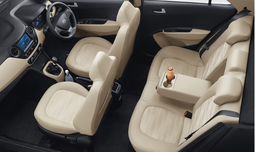 New Hyundai Xcent interior