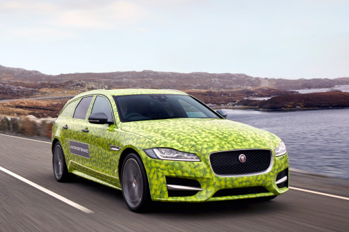 Jaguar XF Sportbrake teased ahead of 14 June launch | CarTrade.com