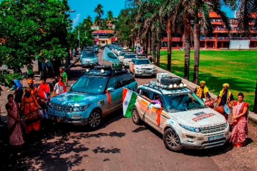 Land Rover concludes Silk Trail 2013 in Mumbai | CarTrade.com