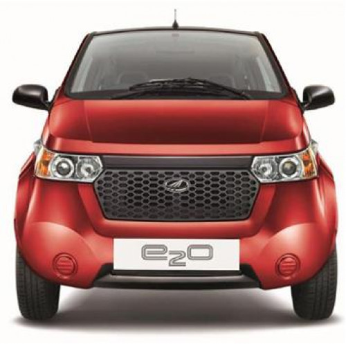 Electrically charged Mahindra Reva E2O to be launched on 18th March | CarTrade.com