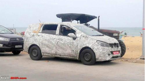 Mahindra U321 spied testing in Tamil Nadu | CarTrade.com