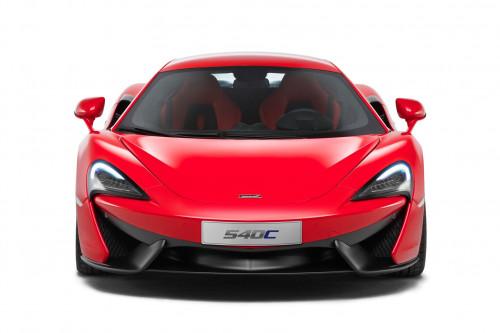 Shanghai Motor Show - Entry level sports car 540C unveiled by McLaren   CarTrade.com