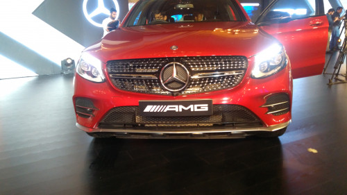 Mercedes-AMG GLC 43 Coupe front