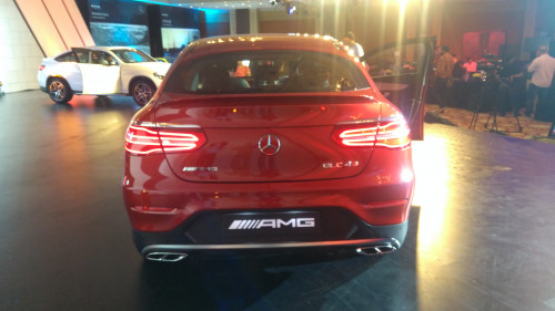 Mercedes-AMG GLC 43 Coupe rear