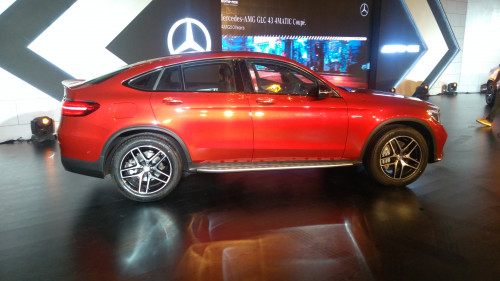 Mercedes-AMG GLC 43 Coupe side