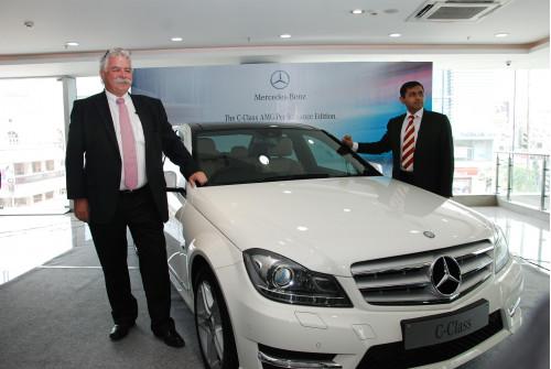 Mercedes-Benz India reveals the sporty C-Class AMG Performance Edition | CarTrade.com