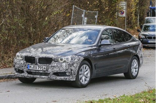 New BMW 3-Series GT spotted on-test | CarTrade.com