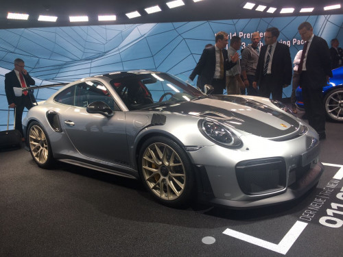 Frankfurt Auto Show 2017: Porsche showcases 911 GT3 Touring Package  CarTrade.com