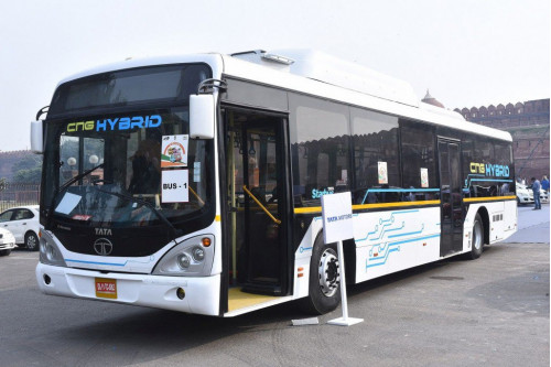 Tata Motors steals limelight with Iris Electric and Hybrid bus at FAME Eco Drive | CarTrade.com