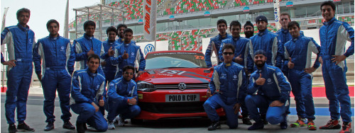 Pre-season tests for the Volkswagen Polo R Cup 2013 held at BIC   CarTrade.com