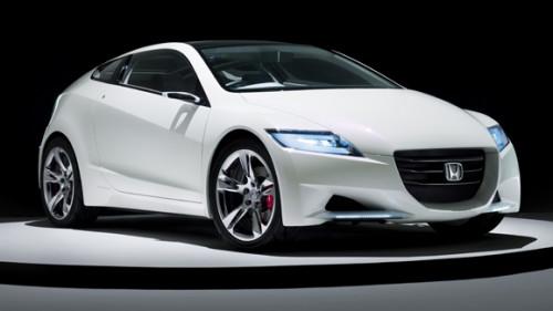 Honda Cr Z Hybrid Concept Car