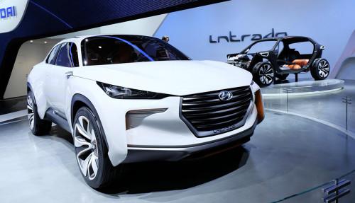 Hyundai intrado f-cell - a hydrogen car