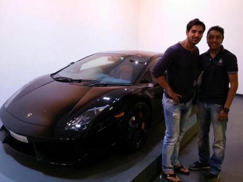 John Abrahams Lamborghini Gallardo Cartrade Blog