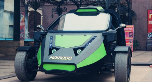 Komodo - Speedways electric car in India