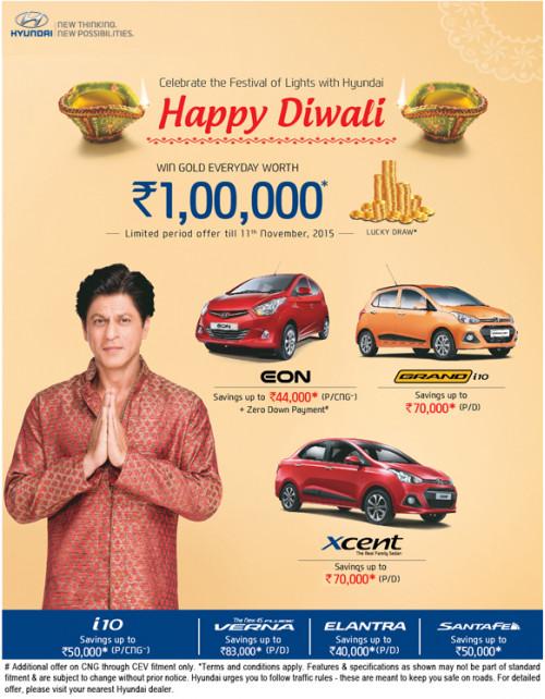 Hyundai offering up to Rs 83,000 savings   CarTrade.com