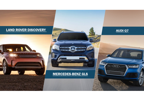 Comparison Land Rover Discovery Vs Mercedes Benz Gls Vs