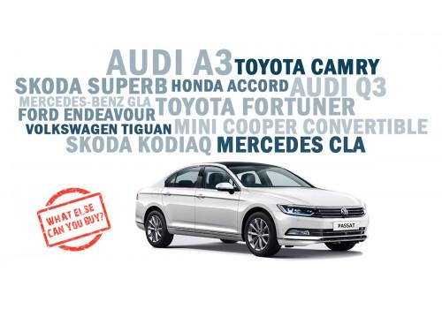 Volkswagen Passat: What else can you buy | CarTrade.com