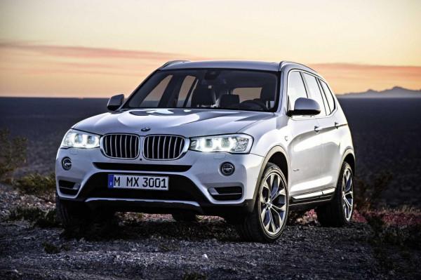 2015 BMW X3 facelift revealed | CarTrade.com