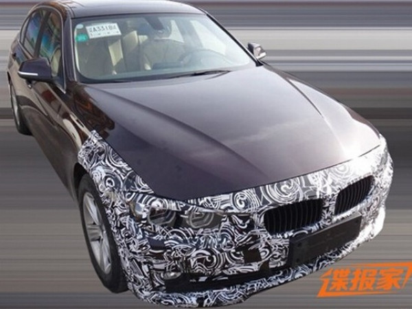 2016 BMW 3 Series facelift spied testing   CarTrade.com