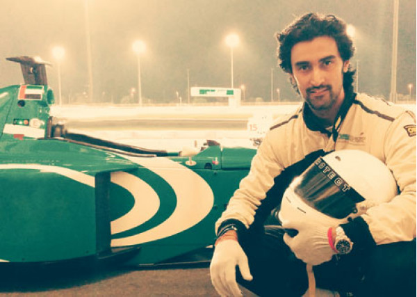 Actor Kunal Kapoor signs-up for Formula 3 training in Abu Dhabi | CarTrade.com