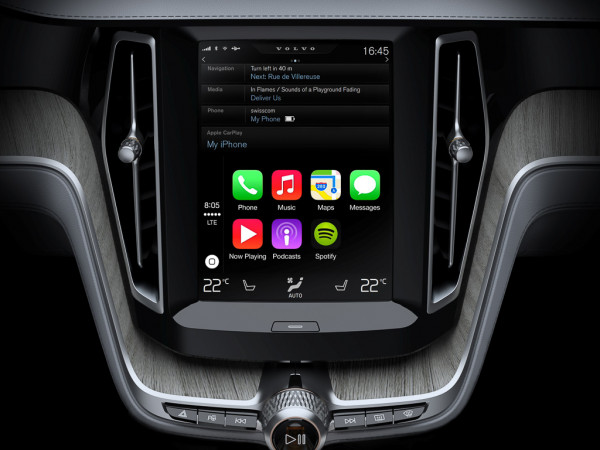 Apple CarPlay allows streaming of music from  iPhone in your car stereo | CarTrade.com
