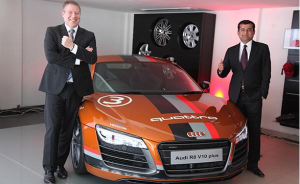 Audi inaugurates new showroom in Udaipur   CarTrade.com