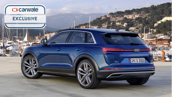 2019 audi q3 unofficially rendered cartrade. Black Bedroom Furniture Sets. Home Design Ideas