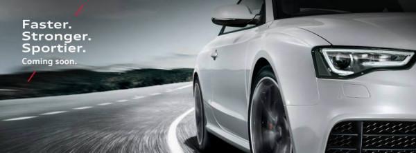 2013 Audi RS5 sports sedan teased on Facebook | CarTrade.com